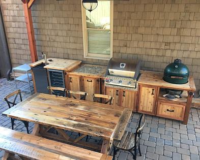 DIY wooden kitchen