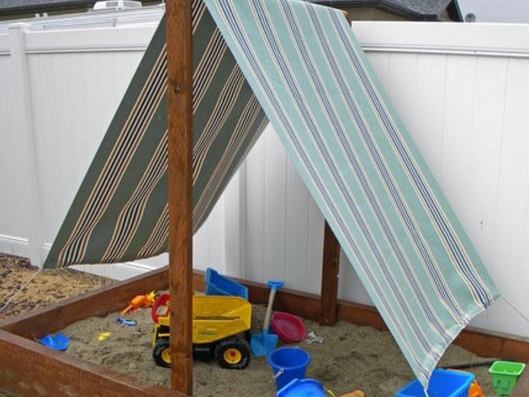 Sailboat themed Sandbox