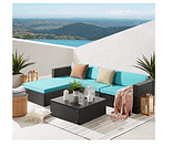 Patio furniture and table
