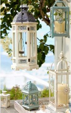 Lanterns in balcony
