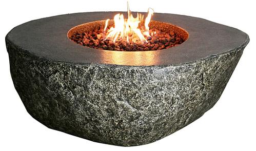 Elementi Fiery Rock Outdoor Fire Pit Table