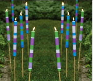 Cintorella large candlesticks