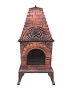 Aztec style pizza oven