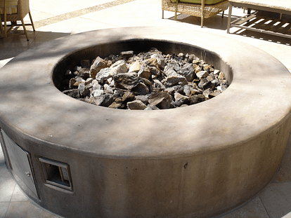 DIY propane firepit