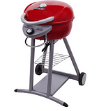 Red electric grill