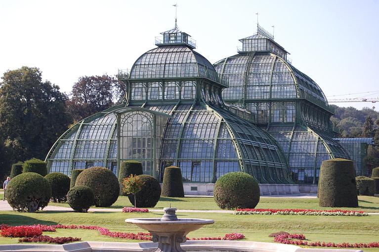 Luxurious greenhouse