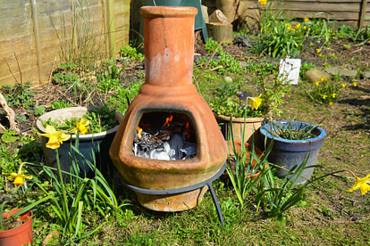 clay firepit