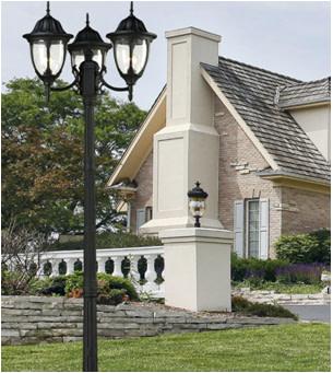 Outdoor post lights