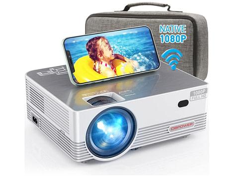 Silver color projector