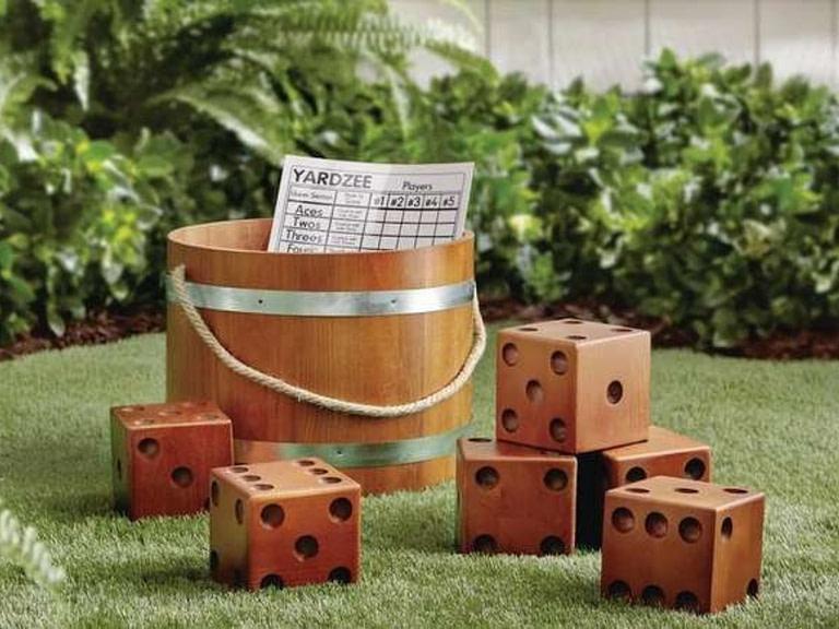 Large Dice Backyard playset
