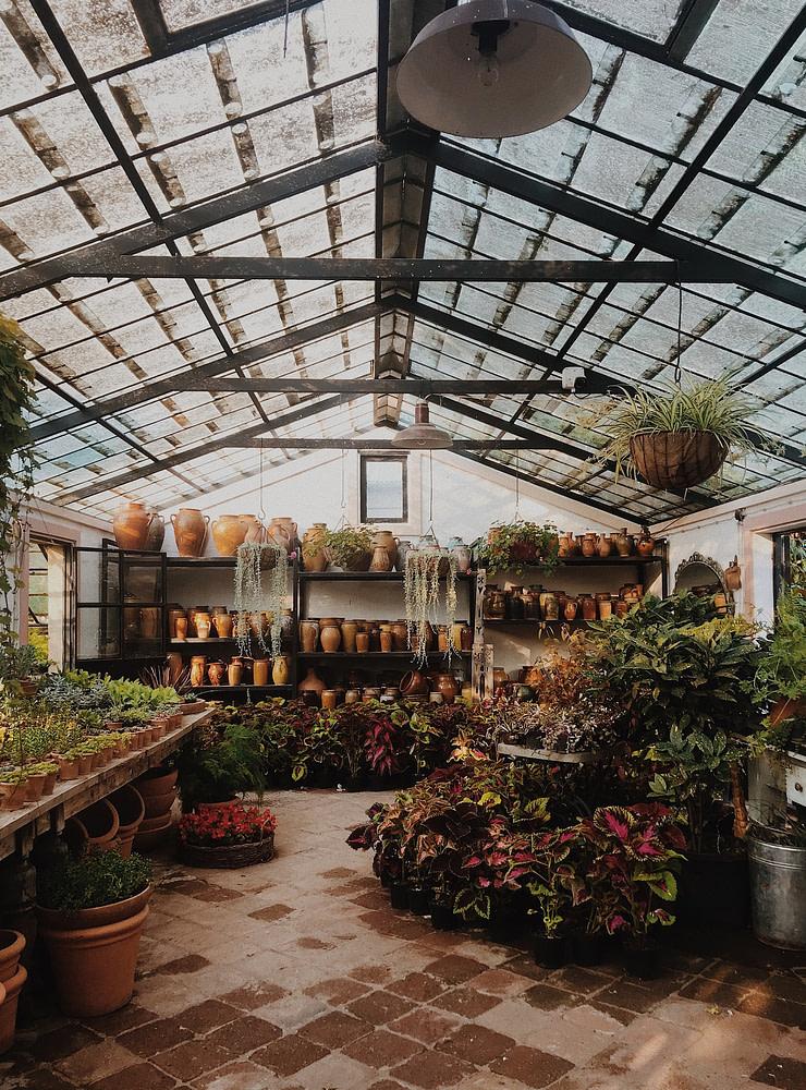Container Garden Greenhouse
