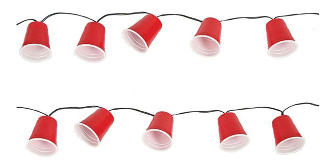 DIY paper cup lights