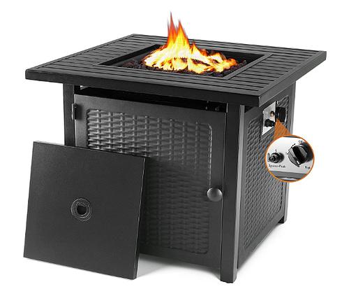 "GARTIO 28.5""/30'' Propane Gas Fire Pit Table"