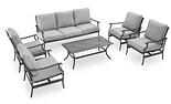 Patio sofa set